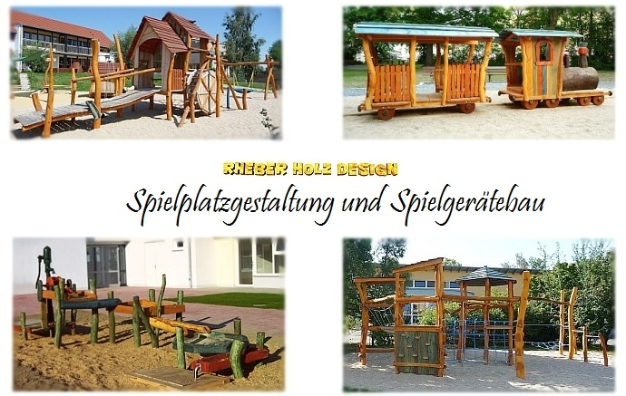 rheber holz design individuelle spielplatz gestaltung spielger te aus robinie spielpl tze. Black Bedroom Furniture Sets. Home Design Ideas